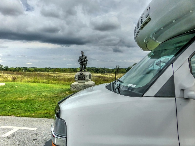 2014 VACATION IN OUR COACHMAN CONCORD 220  LE. FLORIDA TO WASHINGTON DC. THEN ALONG THE COAST BACK TO FLORIDA.