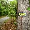 Hiking  Shenandoah Trail head