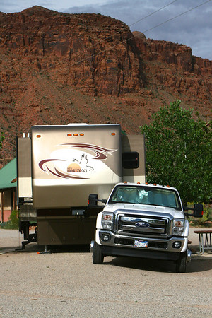 Home is Where You Park It-Moab UT