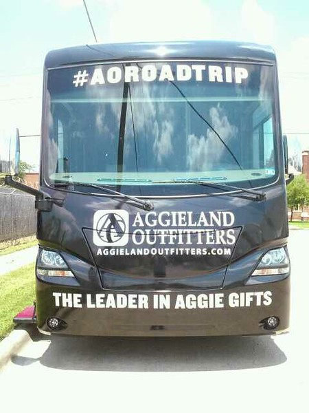 RV Wrap for Aggieland Outfitters, Dallas, TX