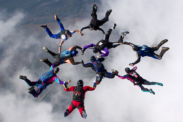 Dale Meyer's 2,500th Skydive