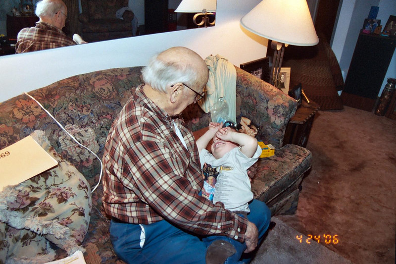 jenny, grandpa andy, great grandfather andy,  Hayden