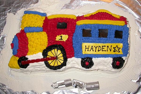 HAYDEN ARRASMITH FIRST BIRTHDAY