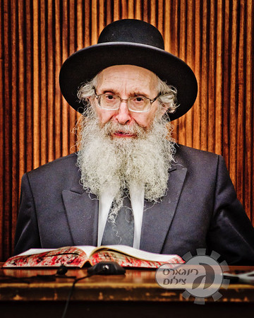 Rabbi Nosson Tzvi Finkel speaking in Ner Yisroel