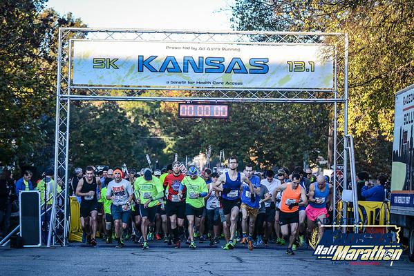 Kansas Half Marathon - 2015