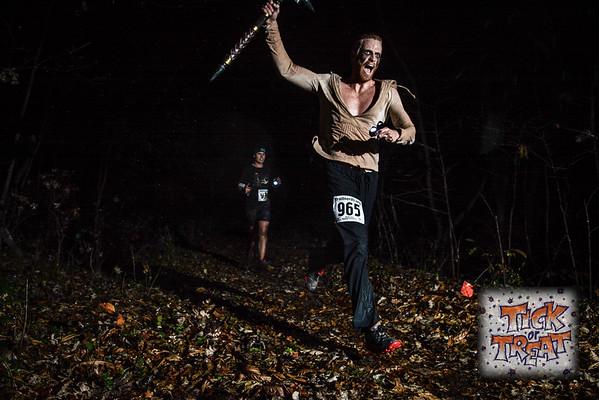 Tick or Treat 5K Night Trail Run - 2015