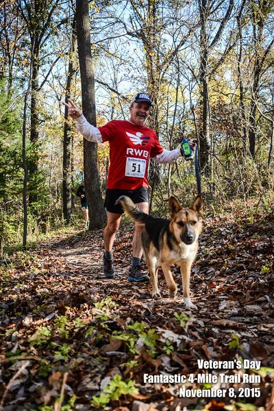 Veteran's Day Trail Run - 2015