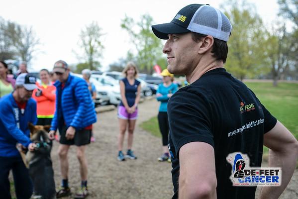 Danny's De-Feet Cancer Charity Trail Run - 2016