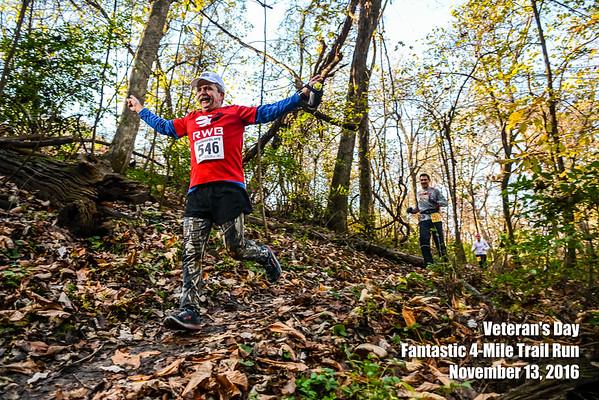 Veteran's Day Trail Run - 2016