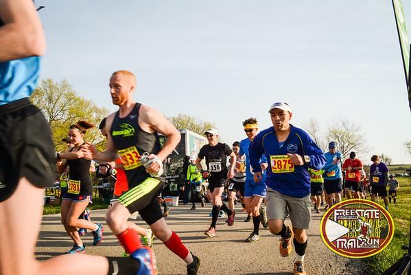 Half and Full Marathon Start