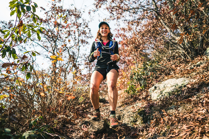 Blood, guts and smiles on the trail.