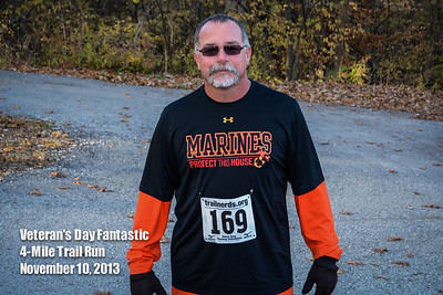 Veteran's Day Fantastic 4-Mile Trail Run - 2013
