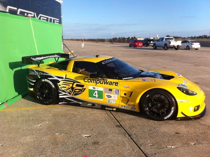 # 4 - 2013 - ALMS GT2, C6R at Sebring test