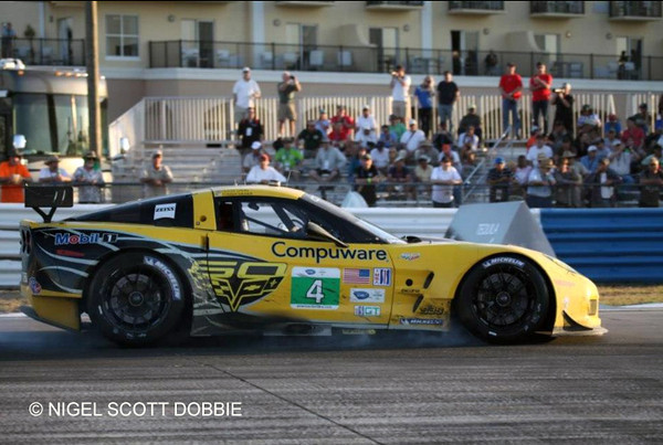 # 4 - 2013 ALMS GT2 - C6 R-008 at Sebring - 12