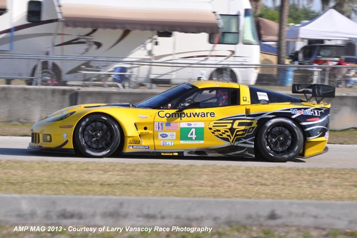 # 4 - 2013, ALMS GT2, Gavin & Milner at Sebring