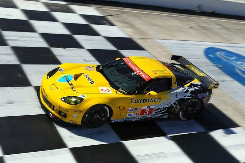 # 3 - 2010, ALMS GT2, Jan Magnussen at Sebring