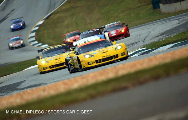 # 3 - 2013 ALMS GT2 - Corv C6 R-005 clinches series at Rd Atl - 05