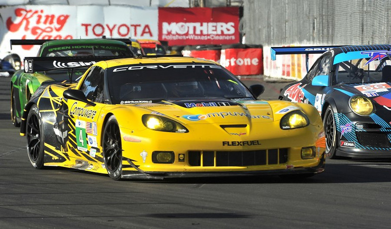 # 4 - 2012, ALMS GT2, Oliver Gavin at Long Beach