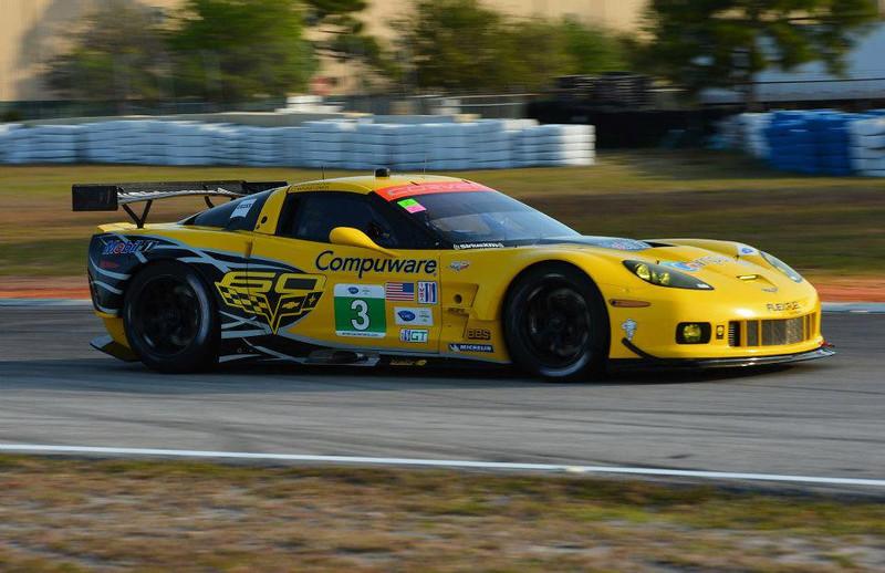# 3 - 2013, ALMS GT2, Jan Magnussen, Antonio Garcia at Sebring
