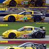 # 3, 4 - 2009, ALMS GT2 colors thru 2012