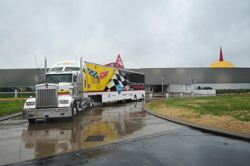 # 4 - 2012 - ALMS GT2 En route from COTA test