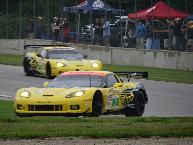 # 3 & 4 - 2013, ALMS GT2, 2nd & 3rd at Road America, Ivan Schrodt photo