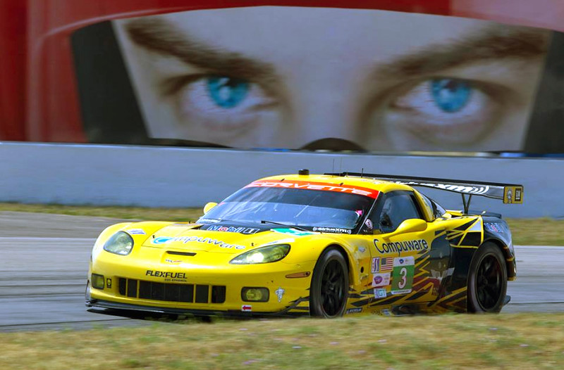 # 3 - 2010, ALMS  Corv Racing C7 R-003 at Mosport -  01 (2)