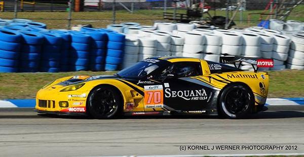 # 70 - 2012, ALMS Larbre 2nd entry at Sebring