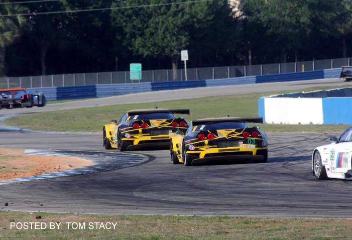 # 3 - 2012 ALMS GT2 - C6R-005 and 006 at Sebring
