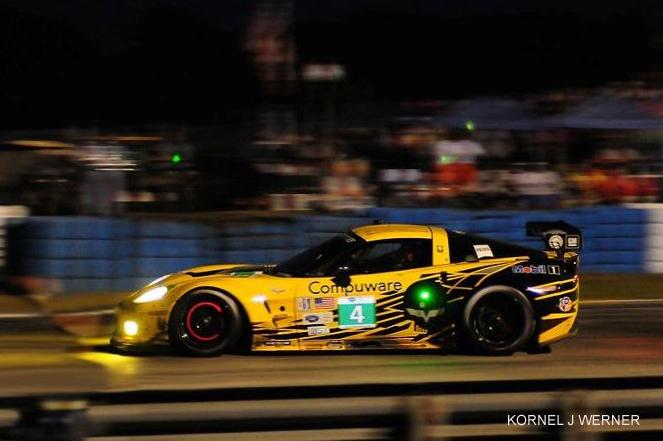 # 4 - 2012 ALMS GT2 - Corvette Racing at Sebring