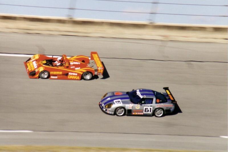 # 51, 61, 73 - 1995 IMSA - Callaway C6R at Daytona - 02