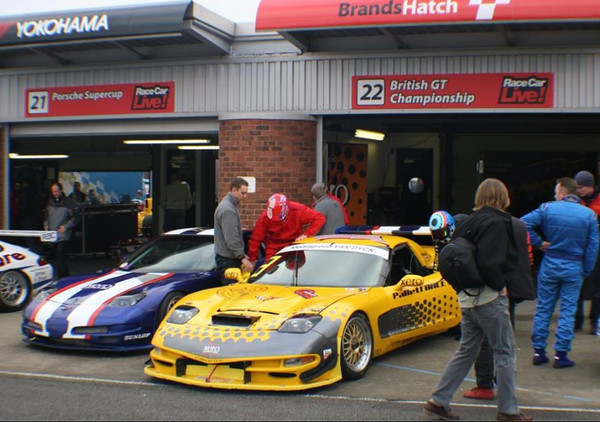 # 20 - 2004 British GT - Ricky Cole at Brands hatch