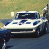 """June 1994, SEARS POINT """"Wine Country Classic"""", vintage race with owner Dr. Bruce Jacobs in the B/P Class surounded by a 'herd' of Shelby Mustangs"""