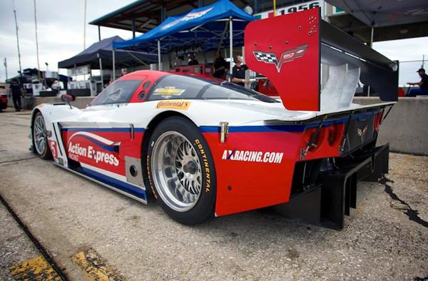 # 5 - 2014 DP - Action Express testing at Sebring - 02