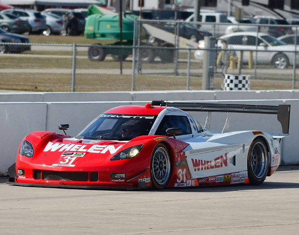 # 31 - 2014 DP - Eric curran at Sebring tests
