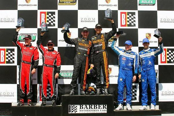 # 10 - 2013, Grand-Am DP, winners Max Angelelli, Jordan Taylor at Barber Motorsports