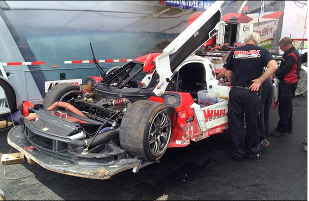 # 31 - 2014 USCR  - Boris Said crash Mosport practice
