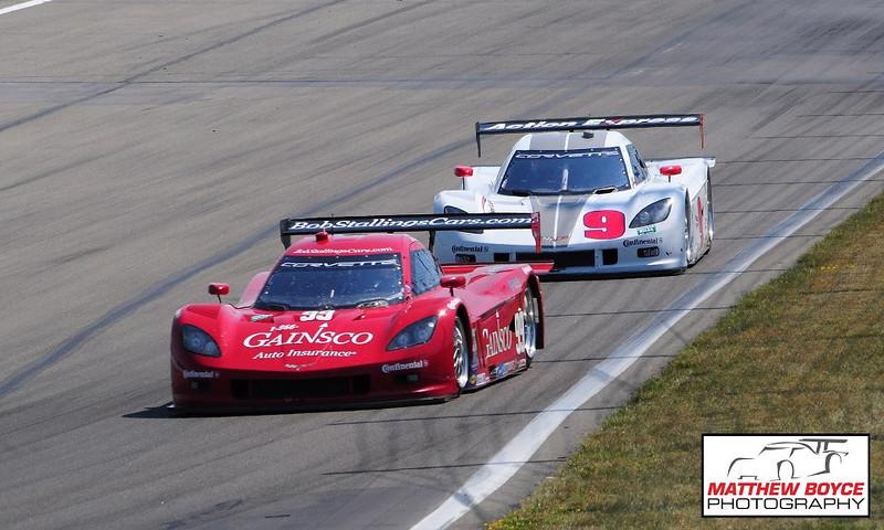 # 99 & # 9 - 2012 -  Grand Am DP - Jon Fogarty and x at Watkins Glen
