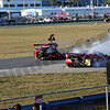# 99 - 2014 USCR - Gainsco Corvette Memo Gidley hits Ferrari at Daytona - 02