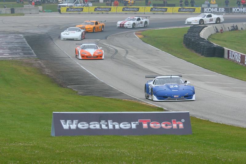 # 24 - SCCA GT1 - 2011 RA Jun Sprints, Rick Dittman leads turn 5