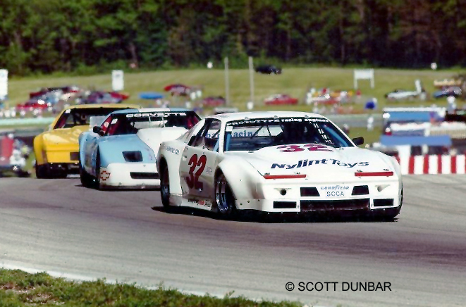 # xx - 1989 SCCA GT1 - Dieter Fahrenbach following J Dunbar