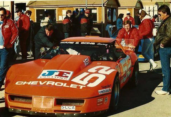 # 52 - 1984, SCCA GT1 - Rick Ware