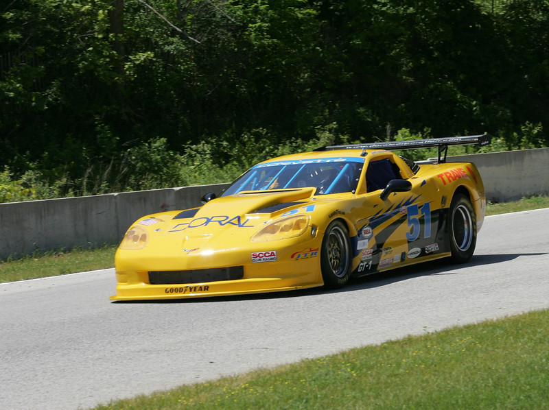 # 51 - 2009, SCCA GT1, Jim Troutnow at Road America 02