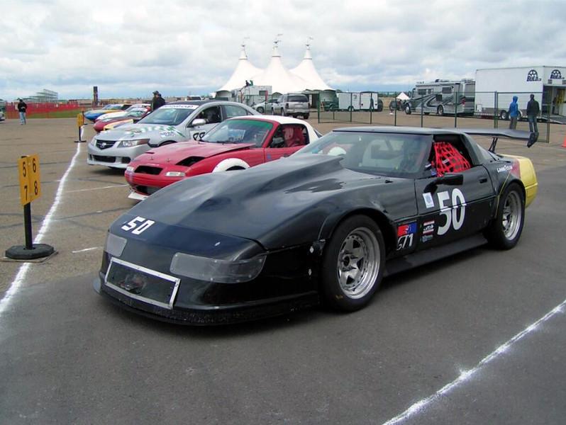 # 50 - 2012 CASC GT1 - ex -M Zoch - driver Paul Carreau