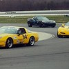 # 94 - 2017 SCCA T1, Joe Danner leads Dave Sanders at Pocono CVCC track day