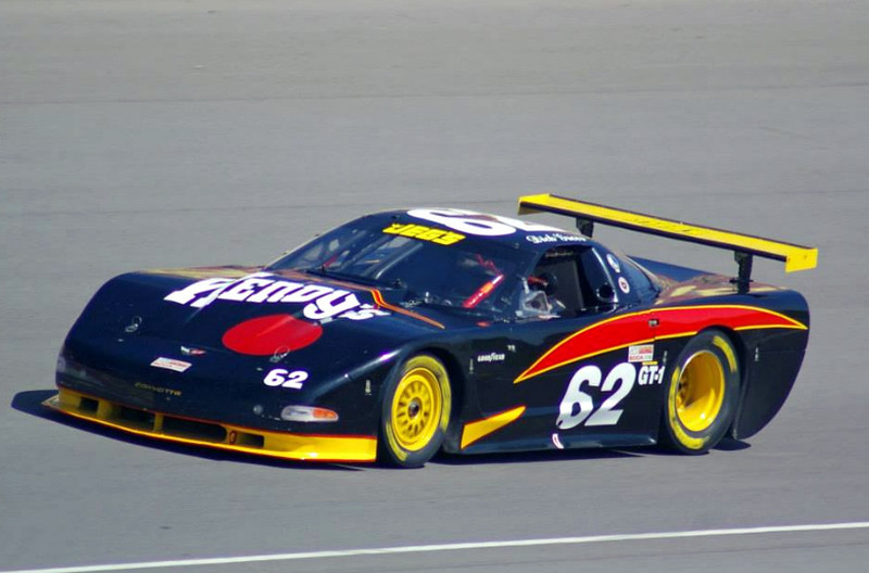 # 62 - 2013 SCCA GT1 - Dick Greer at MIS in ex-Gentilozzi car, Mark Windecker photo