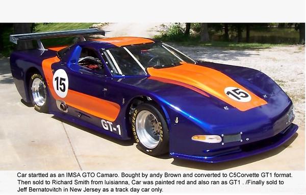 # 15 - SCCA GT1 - prior owner