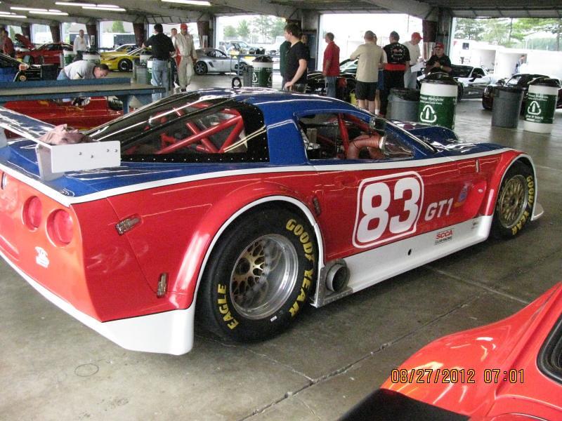 # 83 - 2012 SCCA GT1 ex PLN at WGI prep Ekstens Garage Rochester 02
