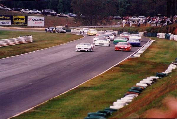 # 97 - SCCA GT1, 1993, John Heinricy leads Road Atlanta runoffs