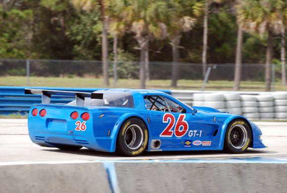 # 26 - 2009 SCCA GT1 - Dave Machavern at Sebring 02